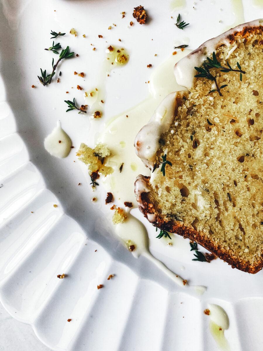 Orange, olive oil & thyme loaf